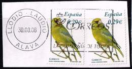 Spanien 2006,Michel# 4143 O European Greenfinch (Carduelis Chloris) - 1931-Hoy: 2ª República - ... Juan Carlos I