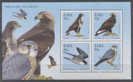 Ireland - 2010 Birds Of Prey Block MNH__(TH-8586) - Blocs-feuillets