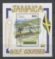 Jamaica - 1992 Grand Master Of Masons Block MNH__(TH-13454) - Jamaica (1962-...)