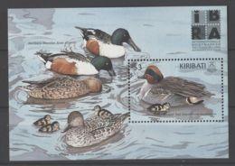 Kiribati - 1999 Ducks Block MNH__(TH-15577) - Kiribati (1979-...)