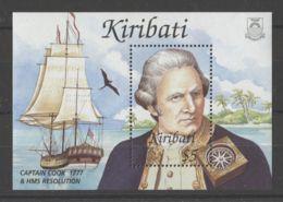 Kiribati - 2002 Seafarers And Explorers Block MNH__(TH-16312) - Kiribati (1979-...)