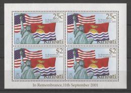 Kiribati - 2002 Terrorist Attack Block MNH__(TH-18023) - Kiribati (1979-...)