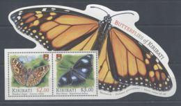 Kiribati - 2015 Butterflies Block MNH__(TH-3132) - Kiribati (1979-...)