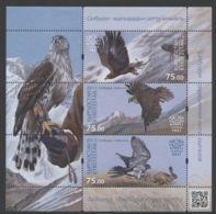 Kyrgyzstan - 2015 Falconry Block MNH__(THB-639) - Kyrgyzstan