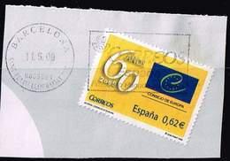 Spanien 2009,Michel# 4406 O 60th Anniversary Of The Council Of Europe - 1931-Hoy: 2ª República - ... Juan Carlos I