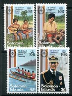 Solomon Islands 1981 25th Anniversary Of Duke Of Edinburgh Award Scheme Set MNH (SG 448-451) - Salomoninseln (Salomonen 1978-...)