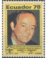 Ref. 308580 * MNH * - ECUADOR. 1978. FAMOUS PEOPLE . PERSONAJES - Ecuador