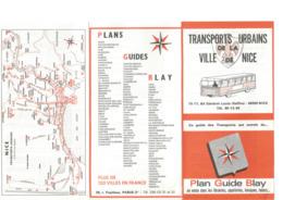 Rare France Guide Des Transports Urbains De La Ville De Nice - Années 70 - Europe