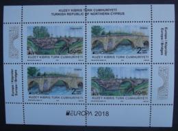 Türkisch-Zypern      Europa  Cept   Brücken   2018    ** - 2018