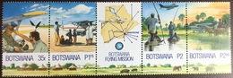 Botswana 2000 Flying Doctor Aircraft MNH - Botswana (1966-...)