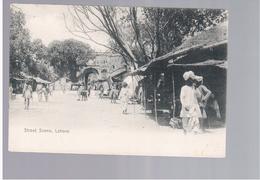 PAKISTAN Lahore Street Scene Ca 1910 Old Postcard - Pakistan