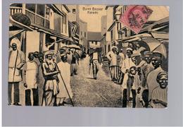 PAKISTAN Boree Bazaar - Karachi 1914 Old Postcard - Pakistan