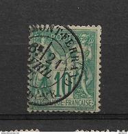 FRANCE  SAGE TYPE 1  N/B      N° 65   OBLITERE - 1876-1878 Sage (Type I)
