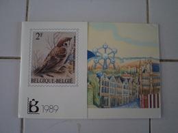 Timbres Belges 1989 Annee Complète Timbres Neufs - Belgique