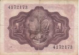 BILLETE DE ESPAÑA DE 1 PTA DEL AÑO 1951 EL QUIJOTE   SIN SERIE - 1-2 Pesetas