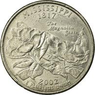 Monnaie, États-Unis, Quarter, 2002, U.S. Mint, Philadelphie, TTB, Copper-Nickel - Federal Issues