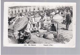 PAKISTAN Old Market Karachi 1956 Old Photo Postcard - Pakistan