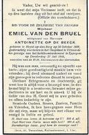 Van Den Bruel E.(  Luchtbombardement Eppegem -Heist Op Den Berg 1909 -vilvoorde1944) - Religion & Esotérisme