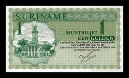 Surinam Suriname 1 Gulden 1974 Pick 116d SC UNC - Surinam