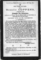 Coppens Rosalie (wieze 1830 -hofstade  1899) - Religión & Esoterismo