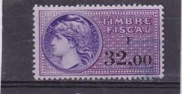 T.F.S.U N°380 - Revenue Stamps