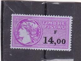 T.F.S.U N°447 - Revenue Stamps