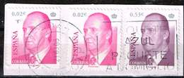 Spanien 2004/05,Michel# 3910, 4020 O King Juan Carlos I - 1931-Hoy: 2ª República - ... Juan Carlos I