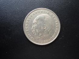 RÉPUBLIQUE FÉDÉRALE ALLEMANDE : 2 DEUTSCHE MARK   1970 G    Tranche A *     KM 124        TTB - [ 7] 1949-… : RFA - Rep. Fed. Alemana