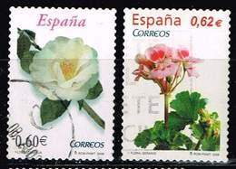 Spanien 2008/09,Michel# 4288, 4428 O Flowers - 1931-Hoy: 2ª República - ... Juan Carlos I