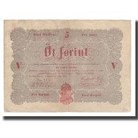 Billet, Hongrie, 5 Forint, 1848, 1848-09-01, KM:S116a, TB - Hungría