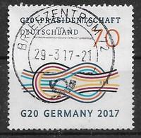 BRD 2017  Mi.Nr. 3291 , G20-Präsidentschaft  - Gestempelt / Fine Used / (o) - Used Stamps
