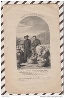 3AD1356  IMAGE PIEUSE BOUASSE CACHET DE LA SAINTE ENFANCE 15 X 9.5 CM 2 Scans - Images Religieuses