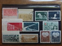 CINA - Serie Complete Timbrate Anni '50 + Spese Postali - Gebruikt