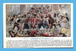 CPA Militaria - La Révolution - 12. Journée Du 10 Aout 1792 - Historia