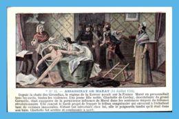 CPA Militaria - La Révolution - 18. Assassinat De Marat 14 Juillet 1793 - Geschichte