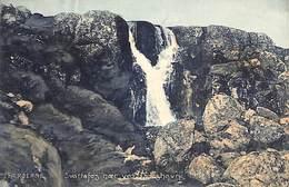Feroe Island - Faeroerne - Svartafos Naer Ved Thorshavn (colors, Stenders Forlag) - Faroe Islands