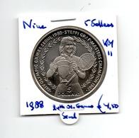 NIUE 5 DOLLARS 1988 OLYMPIC GAMES SEOEL - Niue