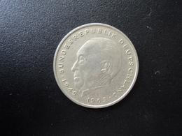 RÉPUBLIQUE FÉDÉRALE ALLEMANDE : 2 DEUTSCHE MARK   1974 G    Tranche A *     KM 124        SUP - [ 7] 1949-… : RFA - Rep. Fed. Alemana