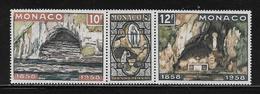 MONACO ( MC5 - 99 )  1958  N° YVERT ET TELLIER  N° 496/498  N** - Unused Stamps