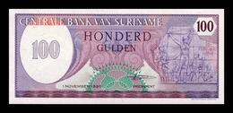 Surinam Suriname 100 Gulden 1985 Pick 128b SC UNC - Surinam