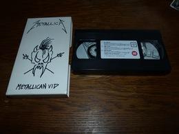 CB19  K7 VHS Metallica Metallican VIP So What - Am I Evil - Helpless - 1993 - Música & Instrumentos