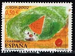 Spanien 2002,Michel# 3741 O  Europa (C.E.P.T.) 2002 - Circus - 1931-Hoy: 2ª República - ... Juan Carlos I