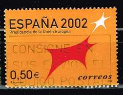 Spanien 2002,Michel# 3703 O European Union Presidency. Spain 2002 - 1931-Hoy: 2ª República - ... Juan Carlos I