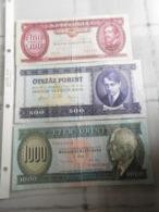 Banknoten Sammlung  Ungarn 1936 - 1993 - Ungheria