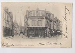 CHARTRES  [28] Eure Et Loir   - 1902 - Rue Noël-Bellay - Horlogerie Bijouterie FRESNEAU - Chartres
