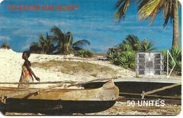 @+ TC De Madagascar : Beach Belo Sur Mer 50U -  SC7 - 200 000ex ( Ref : MDG-41 ) - Madagaskar