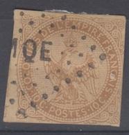 #144# COLONIES GENERALES N° 3 Oblitéré Losange MQE (Martinique) - Águila Imperial