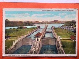 CPA. Ecluses. Miraflores Lock . Panama Canal.  (D1.156) - Panama