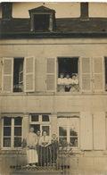 Saint Saulge Carte Photo . Charles Pinon Avec La Famille Colas . - Frankreich
