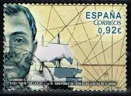 Spanien 2014,Michel# 4848 O 500th Anniversary Of Juan Ponce De León's Arrival In Florida - 1931-Oggi: 2. Rep. - ... Juan Carlos I